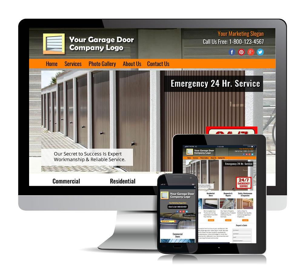 Garage door package 1 premium theme 2 local web for A 1 garage door service
