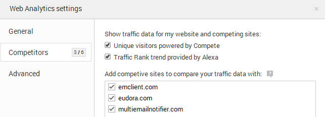web-analytics-settings